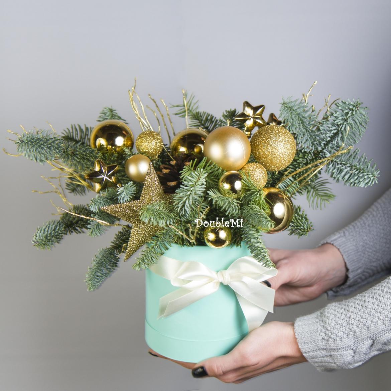 Букет из ёлки: как ходить в гости по-новогоднему
